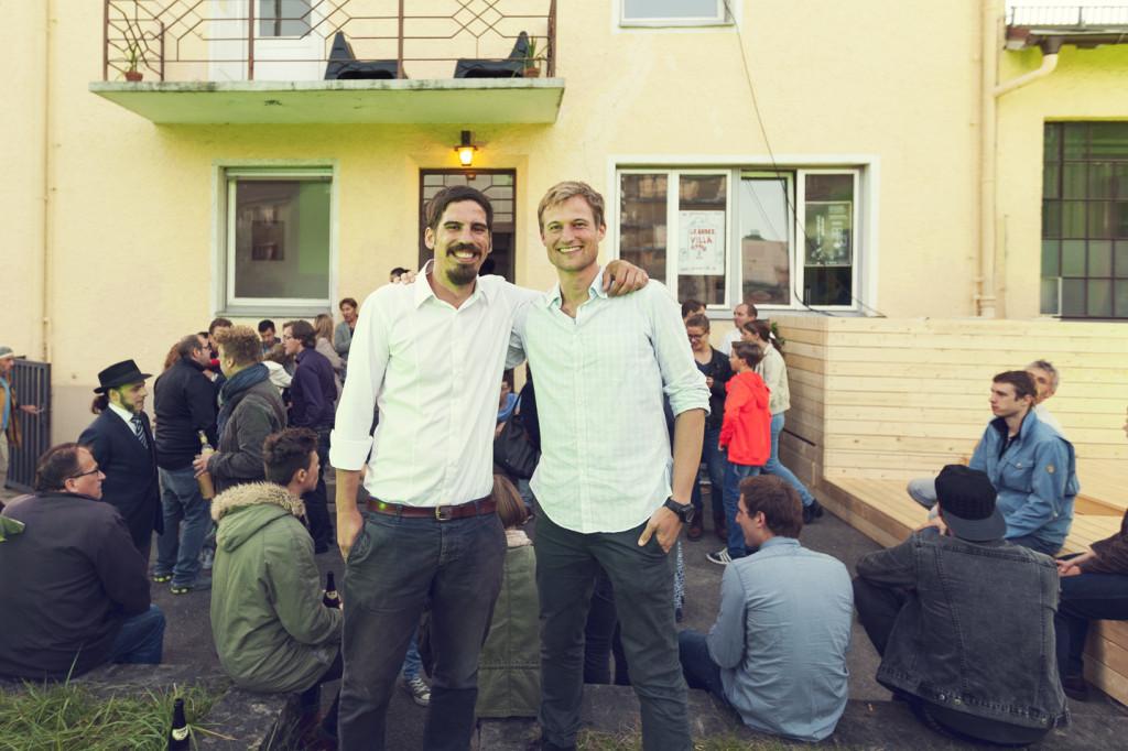 Team Gründervilla - Thomas Herzhoff & Simon Schnetzer