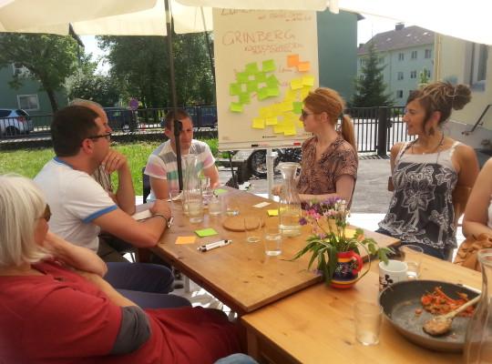 Lunch Talk = Netzwerk und Gründerberatung für Startups in der Gründervilla