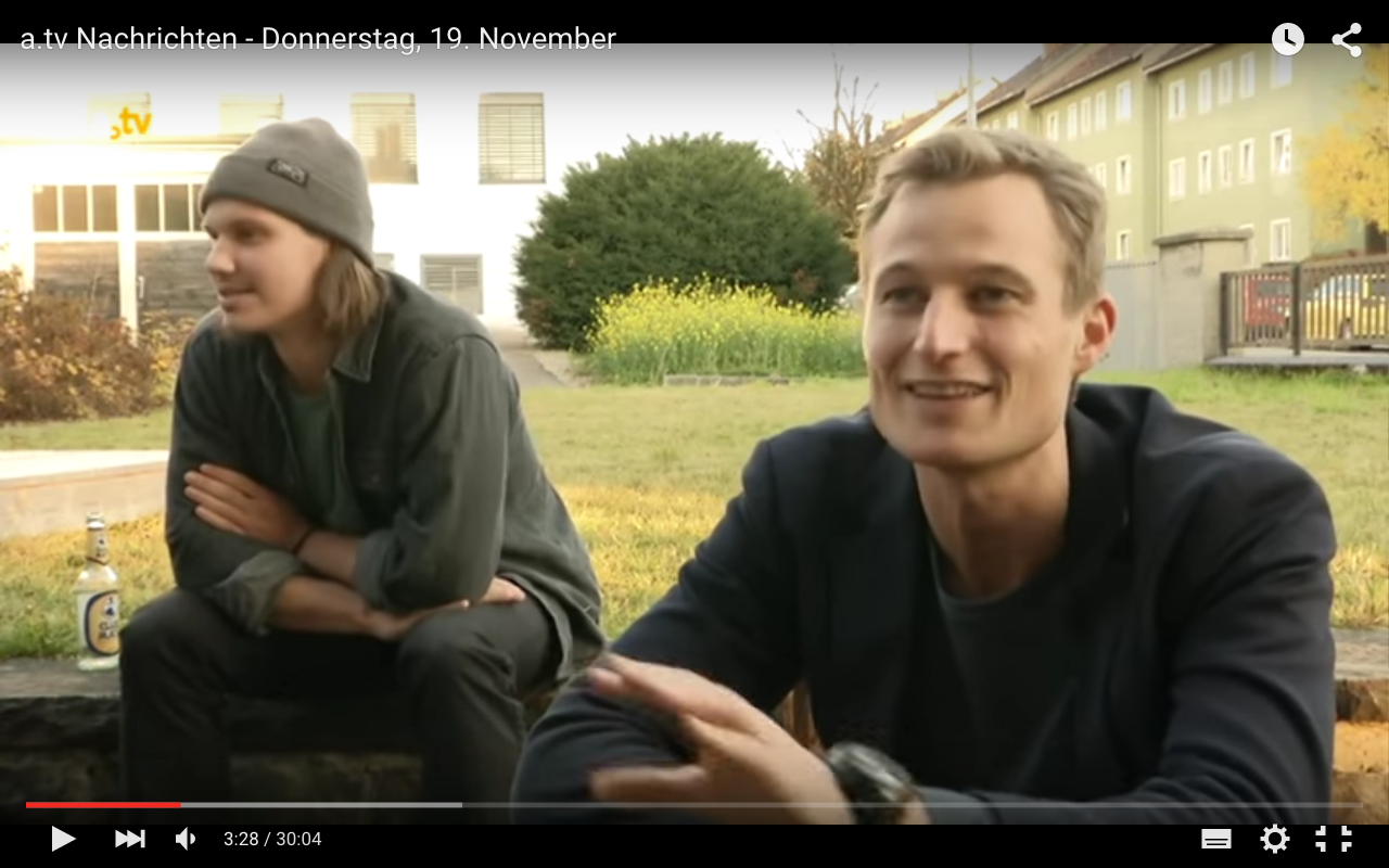 Gründervilla TV-Beitrag 11-2015 (a.tv - www.gruendervilla.de)
