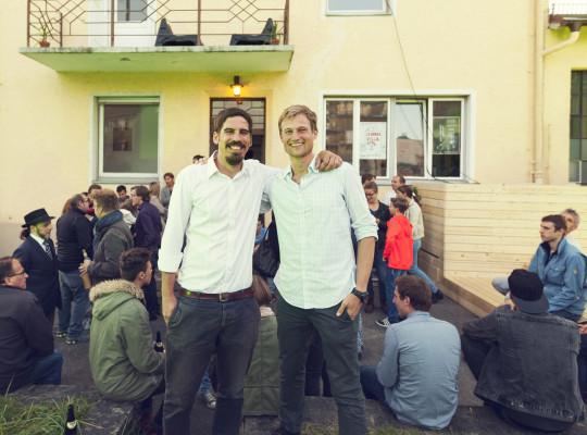 Team Gründervilla – Thomas Herzhoff & Simon Schnetzer
