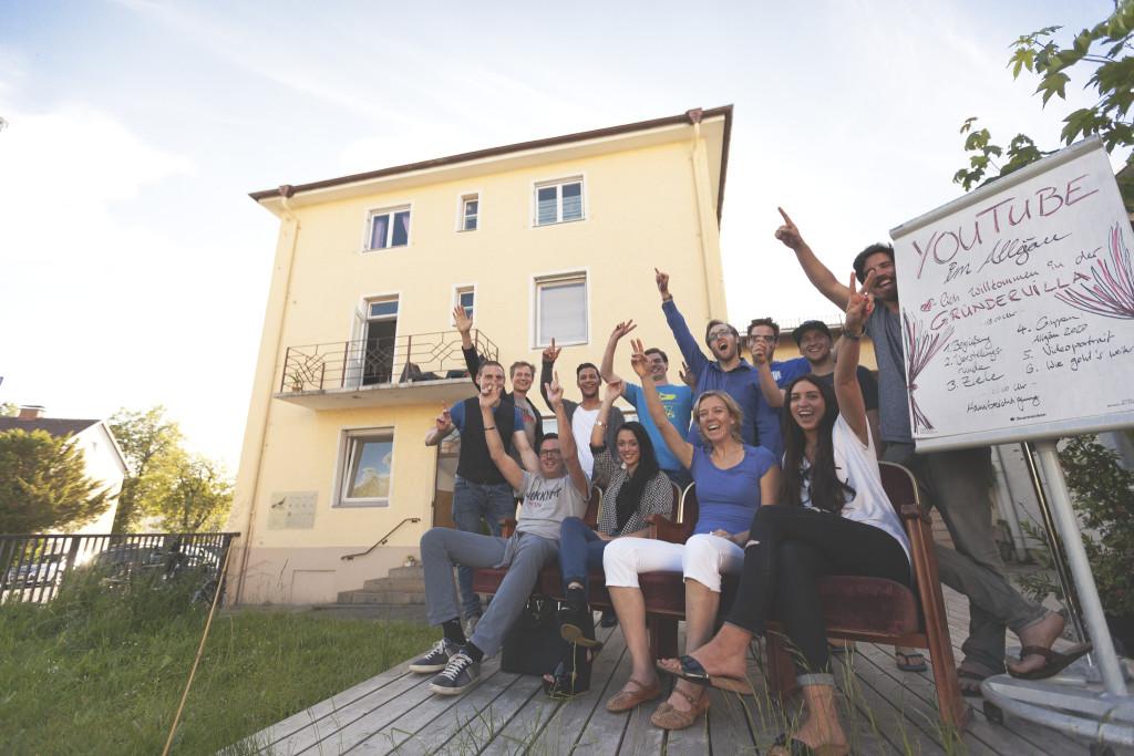 Gründervilla Programm Juni 2019 - Ankündigung 5 Jahre Gründervilla