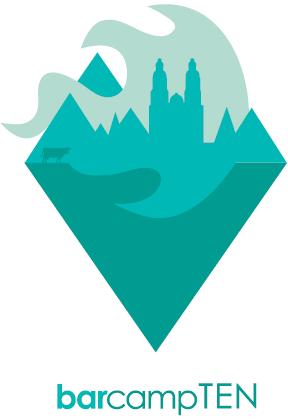 barcampTEN Logo