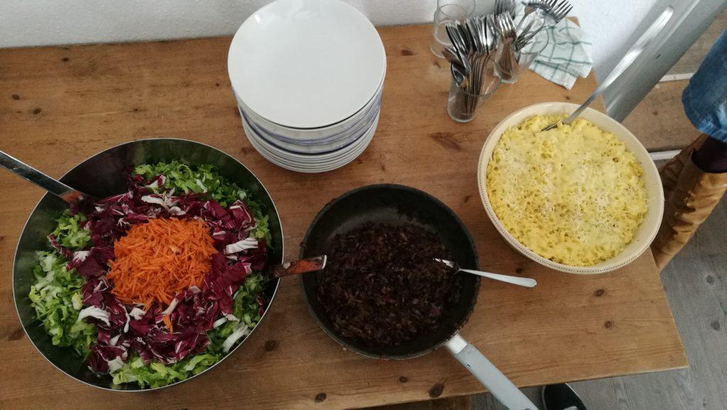 Gründervilla Programm Juni 2019 - Gründervilla Meetup - Meet & Great der Allgäuer Gründerszene bei Kässpatzen & Salat