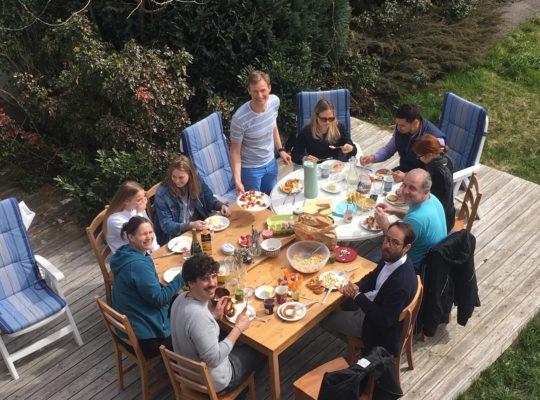Gründervilla Meetup - Osterbrunch - Gründervilla Programm Mai 2018