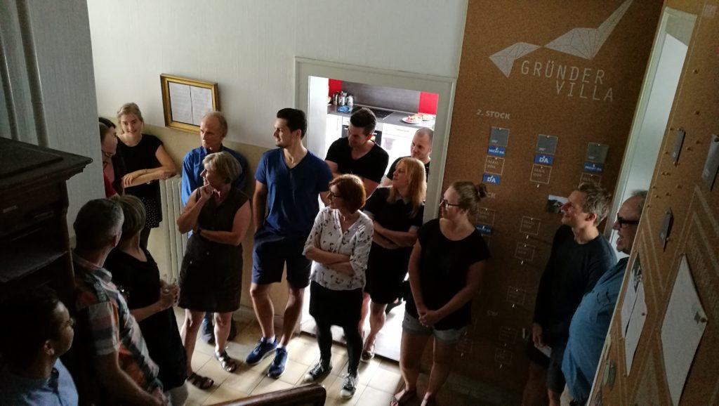 Gründervilla Coworking - freie Arbeitsplätze in Kempten
