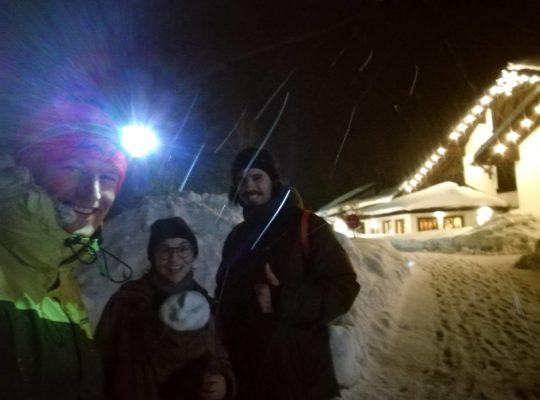 Gründervilla Programm Februar 2019 - Nachtwanderung