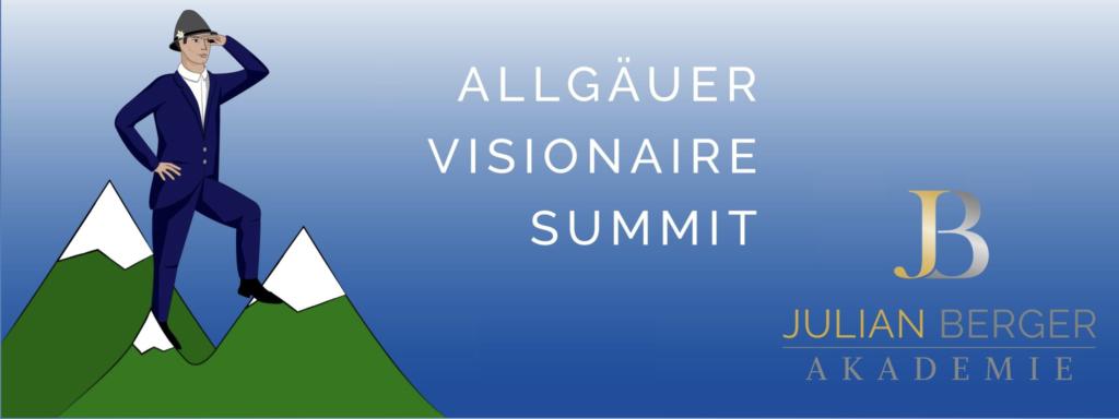 Gründervilla Programm Dezember 2019 Januar 2020 - Allgäuer Gründerszenen Held Julian Berger Allgäuer Visionaire Summit