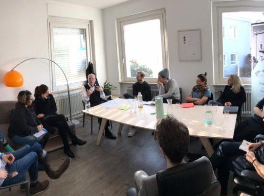 Gründervilla News Februar 2020 - Masterclass mit Hans-Uwe L. Köhler
