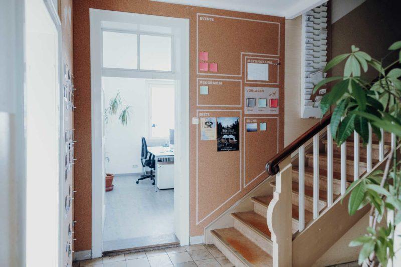 Gründervilla News März 2020 - Gründervilla Eingang - Foto by_isenhoff