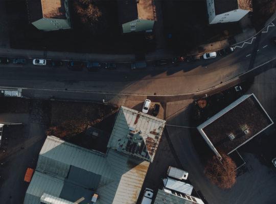 Gründervilla News September 2020 - Gründervilla von oben |Foto Philip Herzhoff
