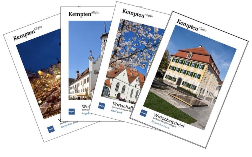 Gründervilla-News 2020-10 - Wirtschaftsbrief der Stadt Kempten