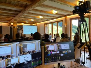 Gründervilla-News 11-2020 - Gründerszenenheld Stefan Durst - Livestream Allgäu_in Aktion